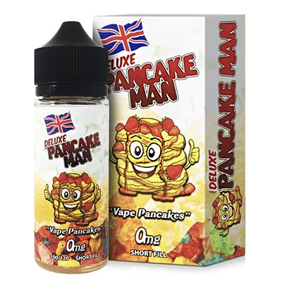 Deluxe Pancake Man by Vape Breakfast Classics - 100ml 0mg