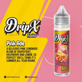 Pink Ade by DripX Vapour - 50ml 0mg