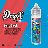 Berry Slush by DripX Vapour - 50ml 0mg