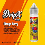 Mango Berry by DripX Vapour - 50ml 0mg
