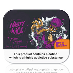 ASAP Grape E-Liquid by Nasty Juice 5x10ml