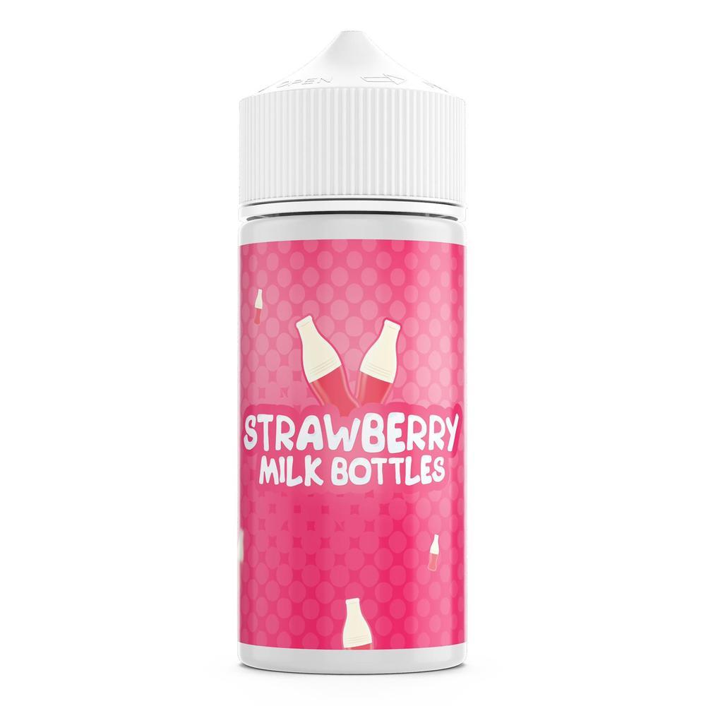 Strawberry Milk Bottles E-Liquid by Milk Bottles - 100ml 0mg