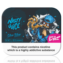 Slow Blow E-Liquid by Nasty Juice 5x10ml