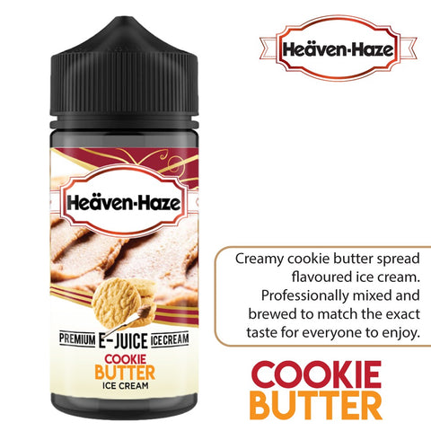 Cookie Butter Ice Cream by Heaven Haze - 100ml 0mg