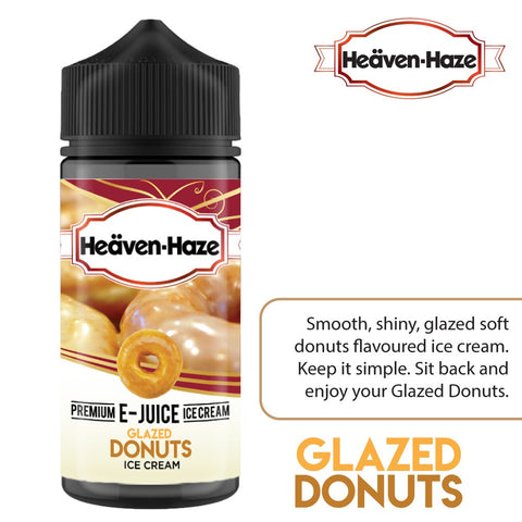 Glazed Donuts Ice Cream by Heaven Haze - 100ml 0mg