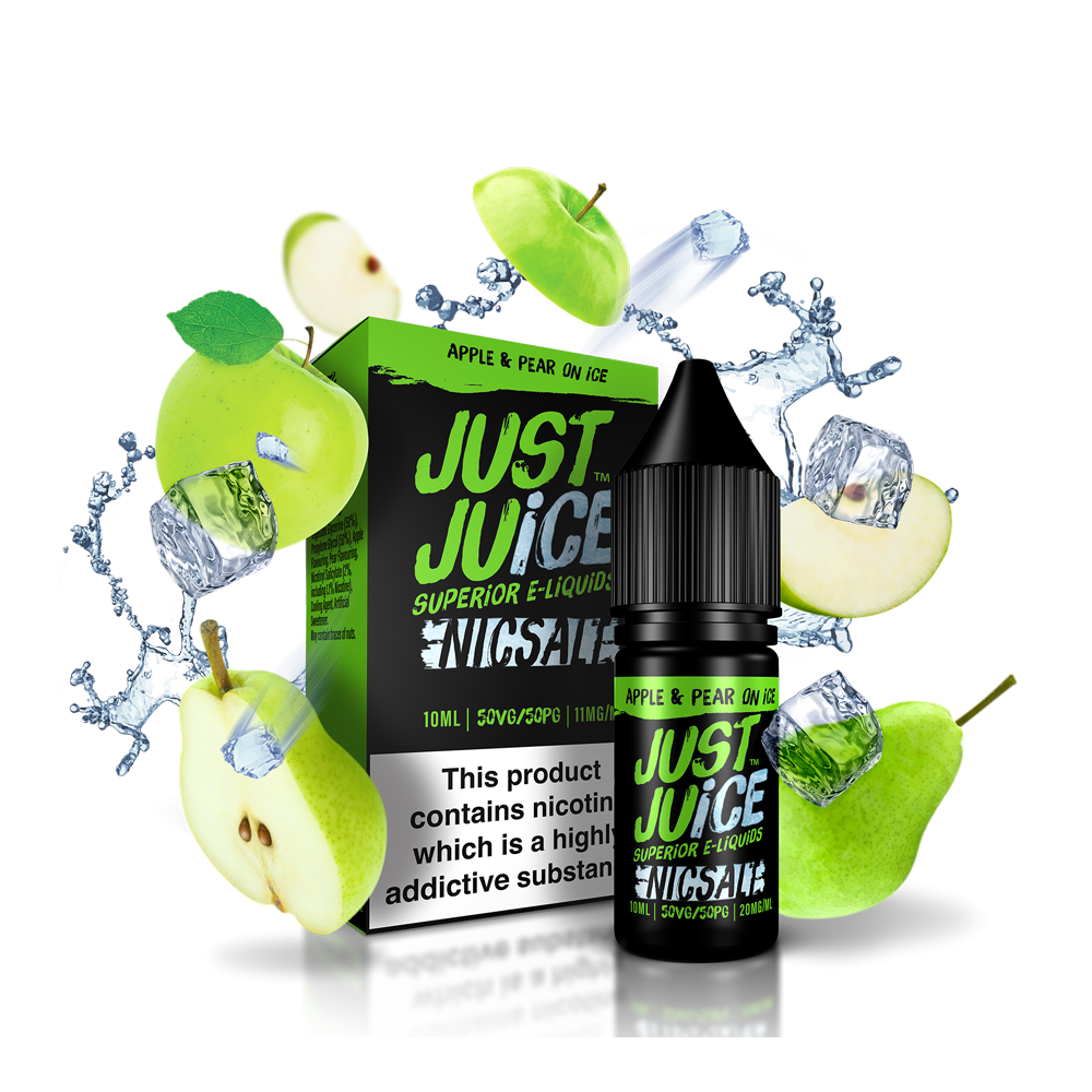 Apple & Pear on Ice Salts by Just Juice - 10ml