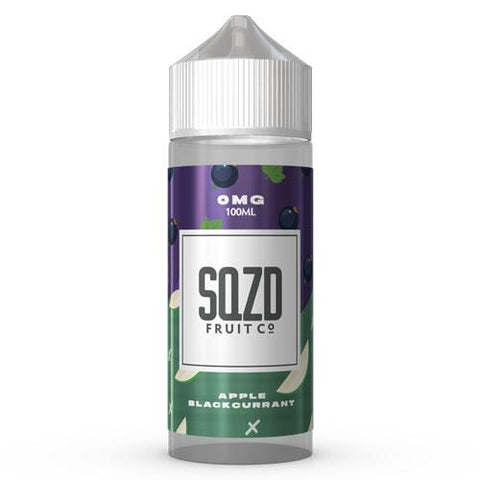 SQZD E-Liquid Apple Blackcurrant - 100ml 0mg