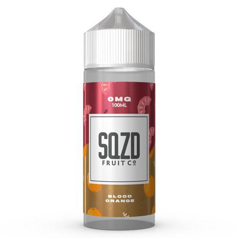 SQZD E-Liquid Blood Orange - 100ml 0mg