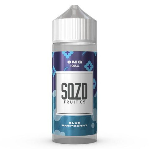 SQZD E-Liquid Blue Raspberry - 100ml 0mg