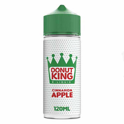 Cinnamon & Apple E-Liquid by Donut King - 100ml 0mg