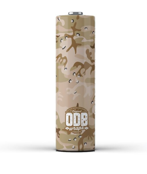 ODB 18650 Battery Wraps - Desert