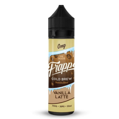 Vanilla Latte by Frappe E-Liquid - 50ml 0mg