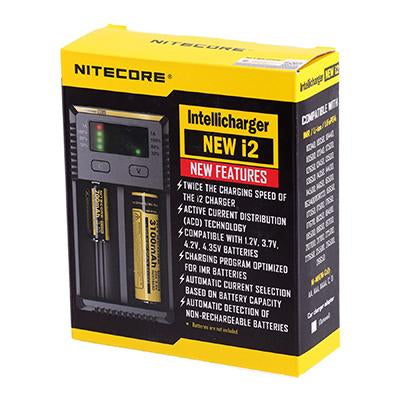 Nitecore Intellicharger I2 - 18650 Battery Charger