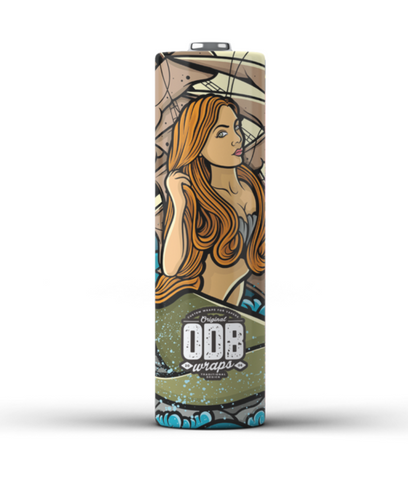 ODB 18650 Battery Wraps - Mermaid