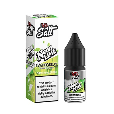 Neon Lime Salt E-Liquid by IVG Salt- 10ml