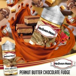 Peanut Butter Chocolate Fudge by Heaven Haze - 100ml 0mg