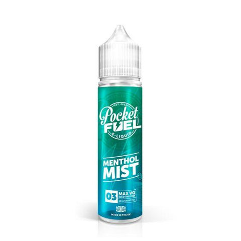 Menthol Mist by Pocket Fuel - 50ml 0mg