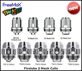 Freemax Twister (Fireluke 2 Tank) Replacement Coils