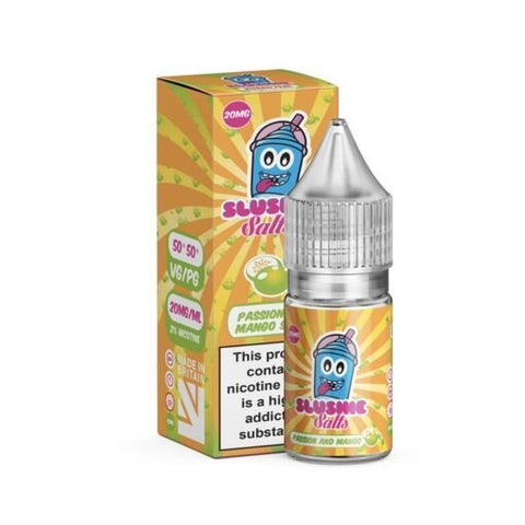 Passion & Mango Slush Salt E-Liquid by Slushie - 10ml 20mg