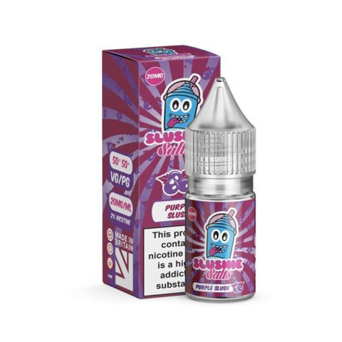 Purple Slush Salt E-Liquid by Slushie - 10ml 20mg