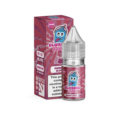 Summer Slush Salt E-Liquid by Slushie - 10ml 20mg