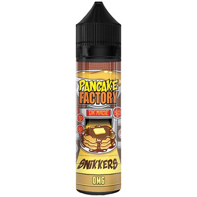 Snikkers by Pancake Factory - 50ml 0mg