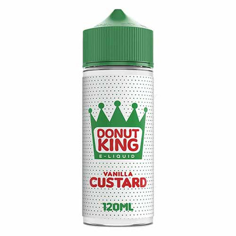 Vanilla Custard E-Liquid by Donut King - 100ml 0mg