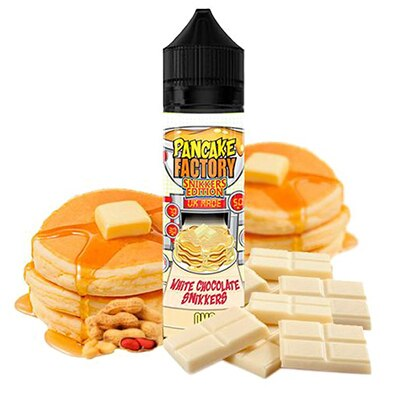 White Chocolate Snikkers by Pancake Factory - 50ml 0mg