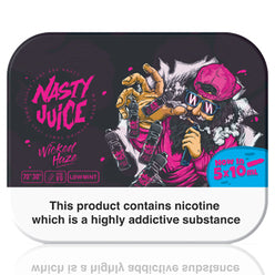 Wicked Haze E-Liquid by Nasty Juice 5x10ml