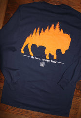 """The Plains"" Long Sleeve Tee - Multiple Colors"