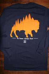 """The Woodlands Collection - The Plains"" Long Sleeve Tee"