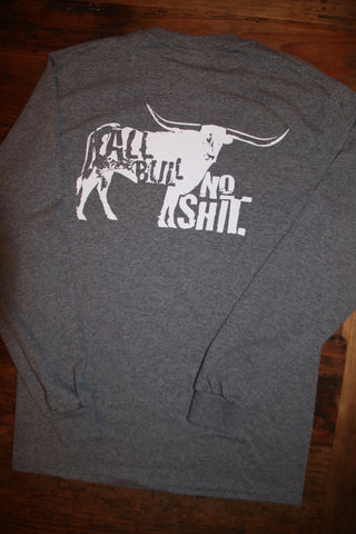 """All Bull"" Long Sleeve Tee"