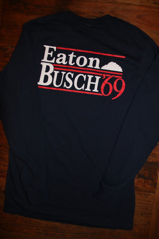 "40% OFF!! ""Eaton Busch Campaign"" Long Sleeve Tee"