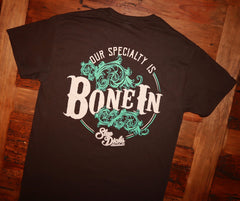 """Bone In"" Short Sleeve Tee"