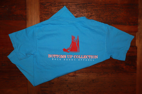 """Bottoms Up Collection"" Short Sleeve Tee"