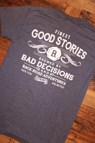 """Bad Decisions"" Short Sleeve Tee"