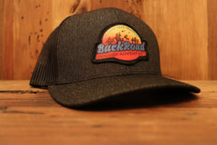 """Back Road Adventures Swamp Logo"" Heather SnapBack Patch Hat"