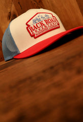 Back Road Adventures Classic Patch Snapback Hat