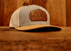 """Back Road Adventures Classic"" Gen 2 Leather Patch Snapback Hat - Multiple Colors"