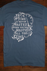 """Wasted Time"" Short Sleeve Tee"