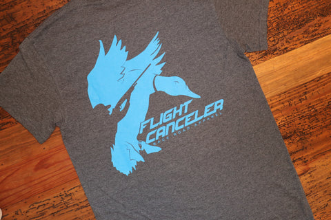 """Flight Canceler"" Short Sleeve Tee"