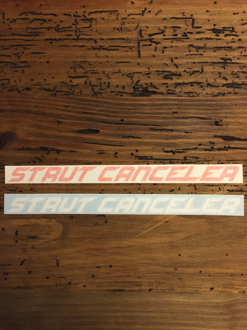 """Strut Canceler"" Decal"