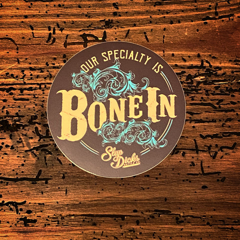 """Bone In"" Decal"