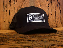 Rated Back Roads Patch Hat