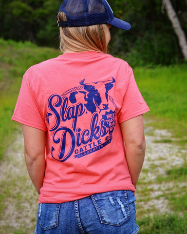 """Slap Dicks Cattle Co."" Short Sleeve Tee"