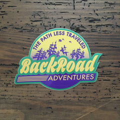 """Back Road Adventures Swamp Logo"" Decal"