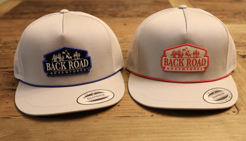 "75% OFF!!! ""Back Road Adventures Classic Patch"" Snapback Rope Hat"
