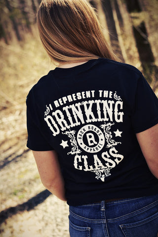 """Drinking Class"" Short Sleeve Tee - Multiple Colors"