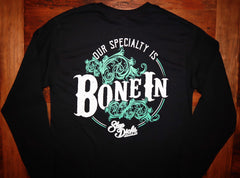 """Bone In"" Long Sleeve Tee"