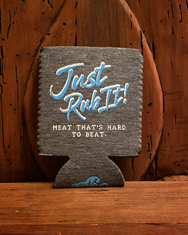 """Just Rub It"" Neoprene Coozie"